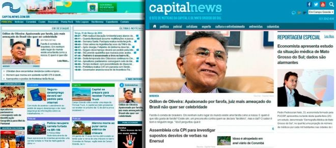 Capital News estreia novo layout para o site